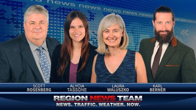 Your Region.  Your Region News Team.