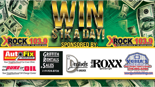 Win $1K A Day!